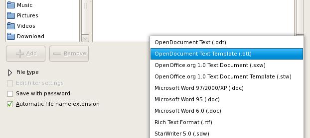 open office letterhead template